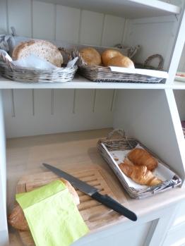 croissants en brood