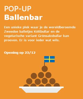 pop-up ballenbar Mons